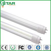 2014 New design 320beam degree glass 9 w led light tube