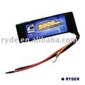 Lp 3s-2000-25c de polímero de litio de la batería