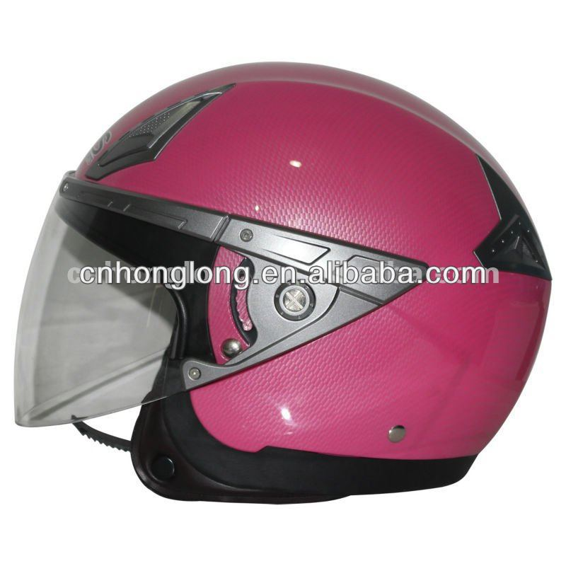 Adults open face motorcycle helmets with good quality(ECE/DOT Approved)