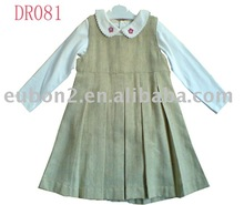 Two-piece Embroidered Infant and Toddler baby girls dress