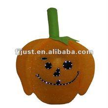 Glitter halloween pumpkin carnival hat