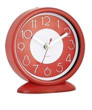 "4.5""&6""&8""fashionable colorful creative quartz table clock"