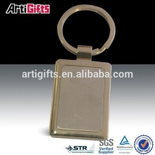Stainless steel spinning keychain,metal keyring