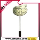 custom metal decorative stick pins