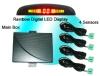 Rainbow LED Display Car Back Sensor Parking