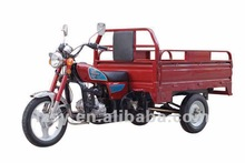 red cargo tricycle