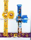 promotional DIY digital watch for children , foldable PP belt watch for children