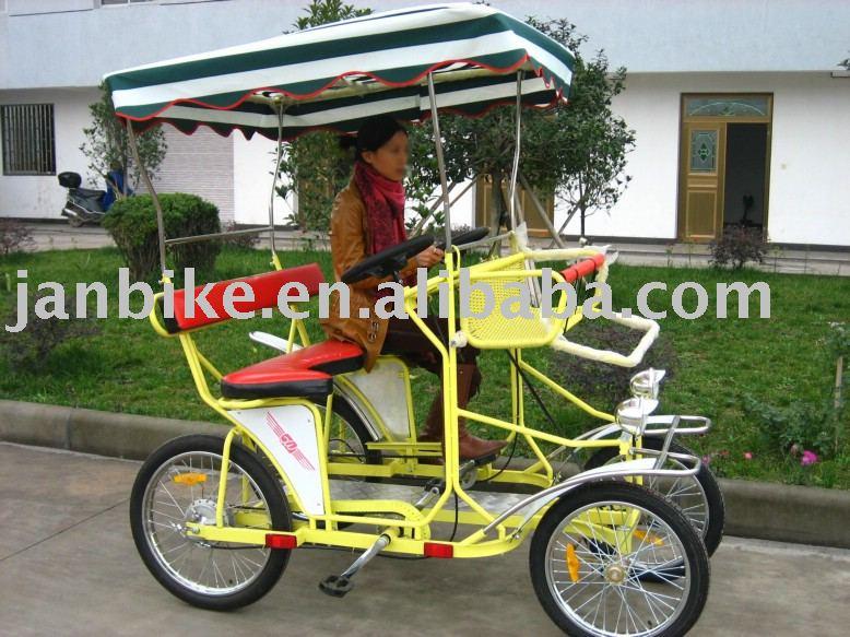 cuatro ruedas de bicicleta