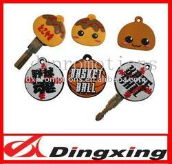 2D custom key cover/customized key cap for promotion