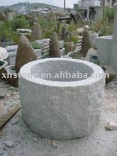 round granite big water bowl