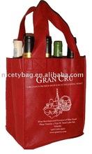6 bottle wine carrier bag