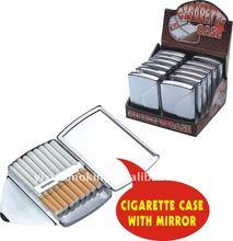 Cigarette Case With Mirror