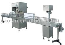 Oil filling machine, edible oil filling machine, olive filling machine