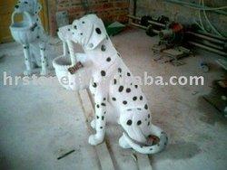 Spot dog Animal carving