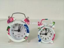 hot sale metal mini alarm clock for gift