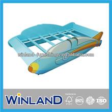 Kids Wooden Airpan Design Toddler Bed