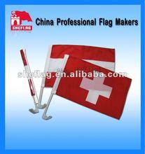 Custom made popular car window flags/flying banner