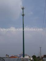 Telecommunication Steel Monopole Tower