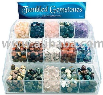 Tumbled Stones Display