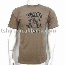 Men's round neck eco-friendly cotton classic t shirt