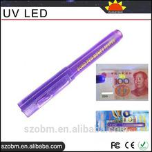 Invisible Ink pen with UV Light, EURO Pen UV LED Money Tester