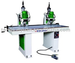 woodworking machine 4-heads hinge driller