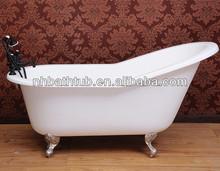cast iron clawfoot slipper tub