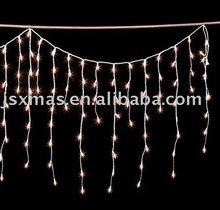 140L christmas icicle light/mini bulb/static