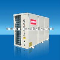 air source heat pump water chiller air conditioner 36Kw 122900Btu scroll compressor R410a