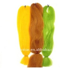 Synthetic human hair braid,any color available