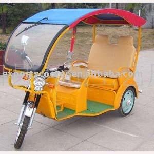 QQ model TEB-02 Power model three wheeler tricycle auto rickshaw