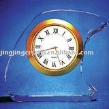 Fashion K9 Crystal craft Clock gift