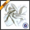 high grade bianco sciarpa di seta per le signore