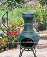 Calico Cast iron Outdoor Chiminea