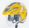 huadun dot half open face helmet HD-50W