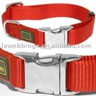 nylon dog collars with metal buckle