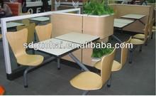 four seats restaurant table