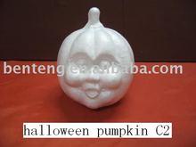 indoor decorative halloween foam white craft pumpkins