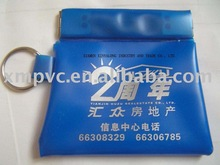 Blue PVC coin purse XYL-CP003