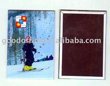 2012 hot sell the best advertising gift tin magnet fridge