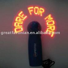 Hot Sale Flash Led Hand held fan