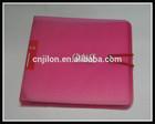 JILONGYIZU BRAND Portable Plastic 12 Disc CD DVD Wallet Storage Organizer Bag Case