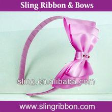 Polyester Satin Wedding Ribbon Headbands