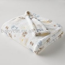 2012 New kind Baby Blanket with printing