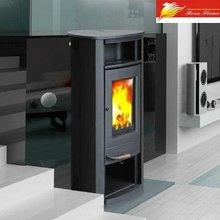 cast iron wood burning stove
