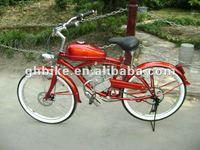 24inch beach cruiser gas 50cc engine bicycle