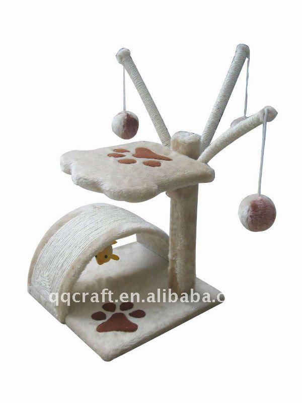 Qqpet Wholesale Luxury Cat Furniture Cat Tree Cat Toy