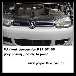 PU MK4 R32 Bumper For Golf 4 IV 2002--2005 VW Golf