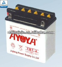 Good Quality Dry Charged Motorcycle Battery YB7-A