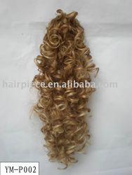 synthetic bun/hair bun/synthetic hair bun